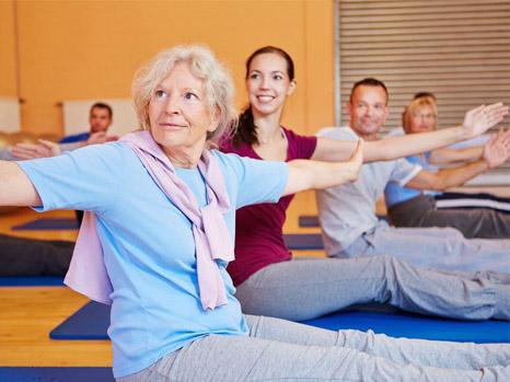 Exercice personnes âgées