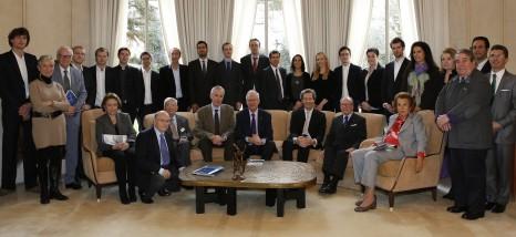 Remise des prix scientifiques 2013 @ C.DOUTRE pour la Fondation Bettencourt Schueller