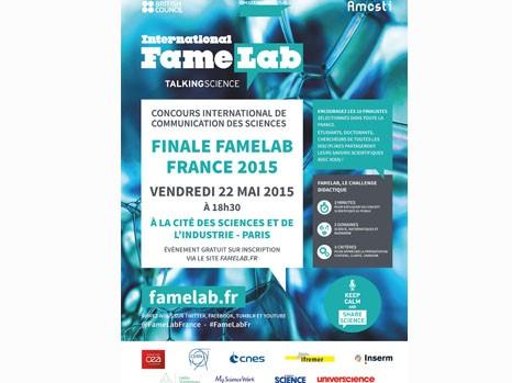 Affiche famelab FINALE 2015