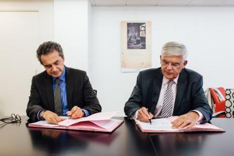 Signature Inserm/CentraleSupélec