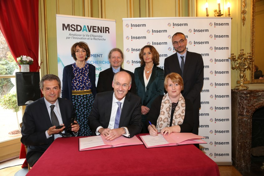 signature convention Inserm MSDAvenir